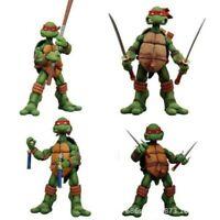 NECA TMNT Teenage Mutant Ninja Turtles Model Color Red  Action Figures New