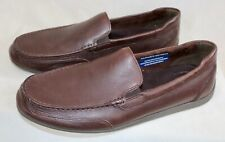 Rockport Men's Bennett Lane 4 Venetian Brown Trutech Slip-On Loafer Shoes Us 13W