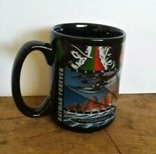 Warner Bros Store BATMAN FOREVER Black Coffee Mug Cup 1995