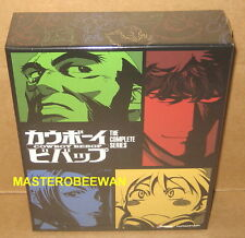 Cowboy Bebop The Complete Series (Blu-Ray/DVD Combo) AMAZON EXCLUSIVE New Sealed