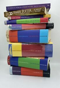 Harry Potter Book Set Hardback 1 - 7 Bloomsbury Cursed Child & Magical Worlds