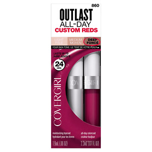 Covergirl Outlast All-Day Custom Reds Lipcolor, 860 Unique Burgundy