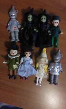 McDonalds Madame Alexander Wizard of Oz vintage dolls lot of (8) 2007-2008 open
