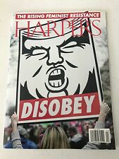 HARPERS MAGAZINE 2017 The Rising Feminist Resistance OBEY BRAND NEW IN SLEEVE