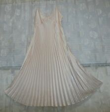DELICATES PINK SATIN NIGHTGOWN--SIZE-XL (NWOT)