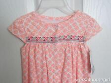 NWT/Carters Infant Girls Romper/9 Mos/BUBBLE SUIT/Orange/Bright/Colorful/New!!