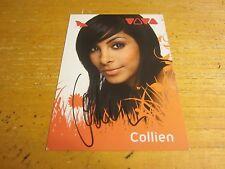 "Collien Ulmen-Fernandes Actress Autographed Signed 4X5.75 Photo ""Jerks"""