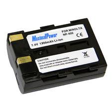 Refuelergy Battery for KONICA MINOLTA NP-400 DiMAGE A1, DiMAGE A2 Dynax 5D 7D