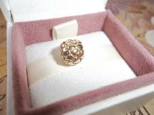 "Genuine Authentic Pandora 14ct Gold ""Lotsa Love"" Hearts Charm 750236 585 ALE"