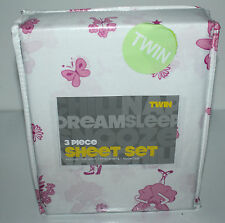 TWIN SHEET BED SET DREAMSLEEP  3 PIECE SET BEDSHEET