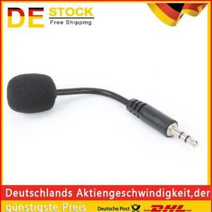 Youn Mini-Mikrofon für PC, Handy, Laptop, 3,5 mm Klinke DE