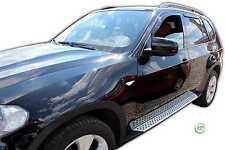 Dbm11140 BMW X5 E70 5 porte 2006-2013 VENTO DEFLETTORI 4pc HEKO COLORATO