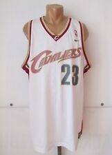CLEVELAND CAVALIERS #23 LEBRON JAMES BASKETBALL JERSEY SHIRT NIKE 2XL SWINGMAN