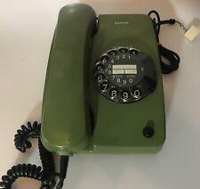Ausgefallenes SIEMENS CT Telefon CT/07 F mit Wählscheibe grün