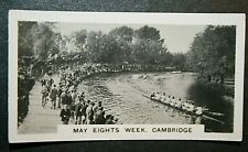 ROWING  MAY EIGHTS WEEK  Cambridge   Vintage Photo Card