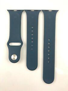 Original Apple watch Series 7 6 SE 5 4 3 Sport Band 38mm 40mm 41MM Mallard Green