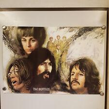 Poster Plakat Beatles Jorn Beinkamp 1975 The Beatles original Vintage