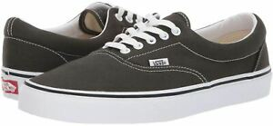 Vans Era Grey White Canvas Unisex Skate Trainers