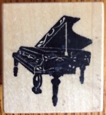 PSX Baby Grand Piano Rubber Stamp C-192 Musical Instrument