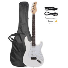 Rosewood Fingerboard Electric Guitar White