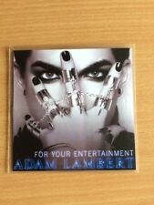 ADAM LAMBERT / QUEEN 'FOR YOUR ENTERTAINMENT' NEW 4 REMIX OFFICIAL CD PROMO
