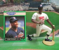 1989  KIRBY PUCKETT Starting Lineup Baseball Figure & Card - MINNESOTA TWINS