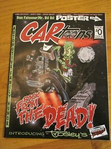 """CARtoons 2015 Comic Magazine  """"Back From The Dead""""  Trial Issue # 0"""