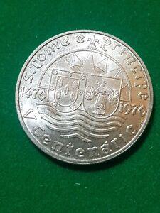 Saint Thomas e Principe  1970  50 Escudos  silver