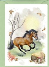 "Horse No. 3 Design (4"" x 6"") Blank Card ideal for any occasion - by Starprint"