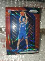 💎 LANDRY SHAMET 2018-19 PANINI PRIZM RED RUBY WAVE #199 ROOKIE RC CLIPPERS 💎