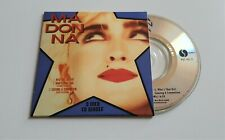 MADONNA 3 INCH CD SINGLE (1989) - INTO THE GROOVE, WHO'S THAT GIRL *NM/MINT*