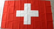 SWITZERLAND SWISS INTERNATIONAL WORLD COUNTRY POLYESTER POLY FLAG 3 X 5 FEET