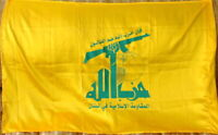 Shia muslim South Lebanon Party of God Resistance Militia Militant Group Flag 05