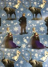 Disney FROZEN Christmas Wrapping Paper 65 sq ft roll wrap 1 roll