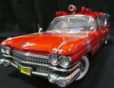 Precsion 1/18 1959 Cadillac Superior Crown Royale Detroit Fire Dept. Ambulance