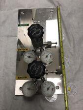 Tescom Valve 100 PSIG Max Outlet ,USG U.S.Gauge Pressure Meter