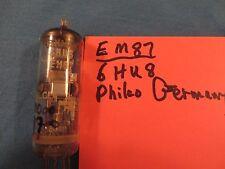 Radio tube Phico EM87/6Hu6 Magic eye Made in Germany