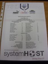 29/03/2013 Colour Teamsheet: Preston North End v Portsmouth  . Thanks for viewin