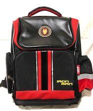 "Marvel Iron Man 16"" Kids Backpack School Bag"