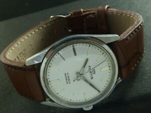 VINTAGE FORTIS INCABLOC WINDING SWISS MENS WATCH 442a-a221197-3