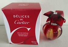 Cartier Delices de Cartier EDP 1oz. 30 ml - NIB - Discontinued - Very Rare