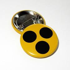 Blindenplakette, Blindenabzeichen, Blindenbutton mit Anstecknadel, 38mm