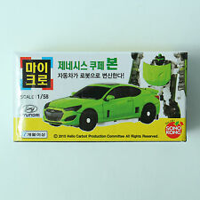 Hello Carbot Micro Genesis Coupe Bon Transformer Robot Toy Figure Scale 1:58
