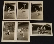 1930/40's - ND OF QUEBEC CLUB - SOFTBALL TEAM - PHOTOS (6)  - ORIGINAL