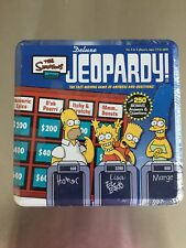 The Simpsons Edition Deluxe Jeopardy! Pressman 2004 - NIB & Factory Sealed