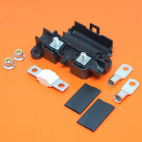 Heavy Duty Midi Car Fuse Holder With 80 Amp Midi Fuse Terminals & Heat Shrink