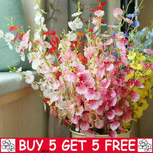 Artificial Silk Fake Flowers Corn Poppy Wedding Party Home Outdoor Bouquet YE
