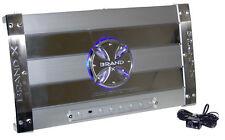 Brand-X XXL319003D 3 Channel Hybrid Mosfet/Class D Amp W/ Aluminum Heat Sink