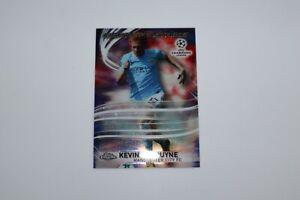 2017/18 - Topps CL Chrome Soccer - Kevin De Bruyne / LS Card #LS-KDB