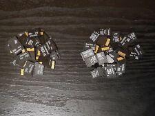 40 x 4GB 2GB Micro SD Memory cards Bulk job lot Mix Brands